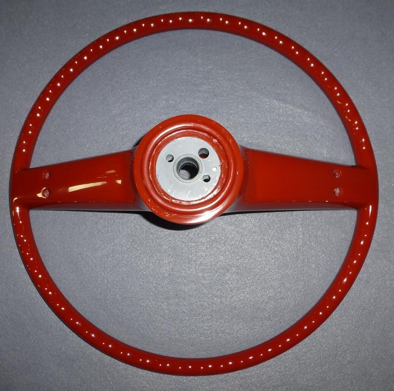 buick steering wheels quality restorations inc 1938 Chevy Steering Column buick skylark 1964 to 1965 back view