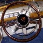 Packard 1948 GM Column 16 inch OD Custom Ford Emblem Transparent Copper