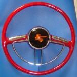 Packard 16 inch OD Custom Pontiac Emblem 16 inch Diameter